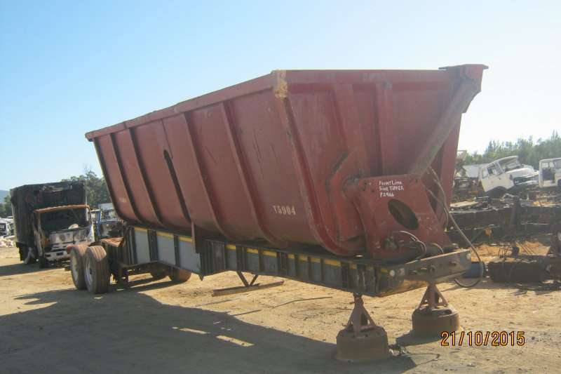 BURG TANDEM FRONT INTERLINK  SEMI TIPPER Trailers