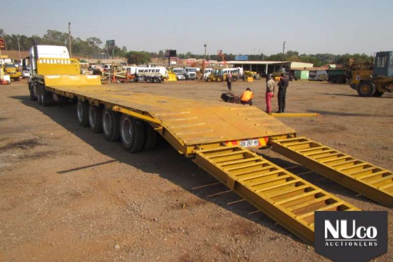 Trailers Busaf BUSAF 4 AXLE SEMI STEP DECK LOWBED WITH RAMPS 0