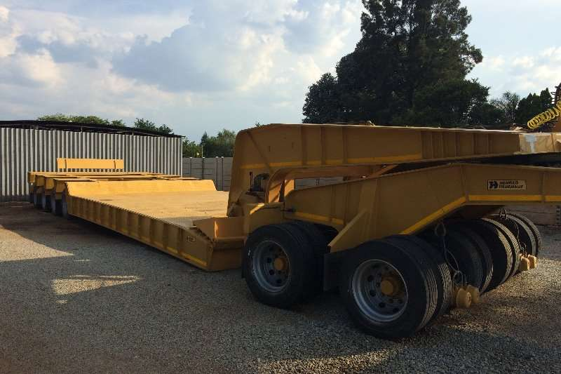 Trailers Busaf Lowbed 100 ton Lowbed with dolly 2007