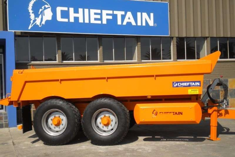 Chieftain End tipping 12 Ton Dump Trailer Trailers