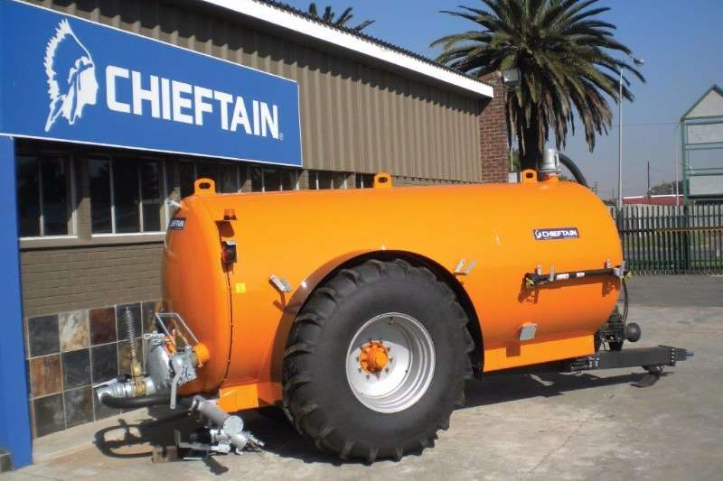 Chieftain Water tanker 11000L Water / Slurry Tanker Trailers