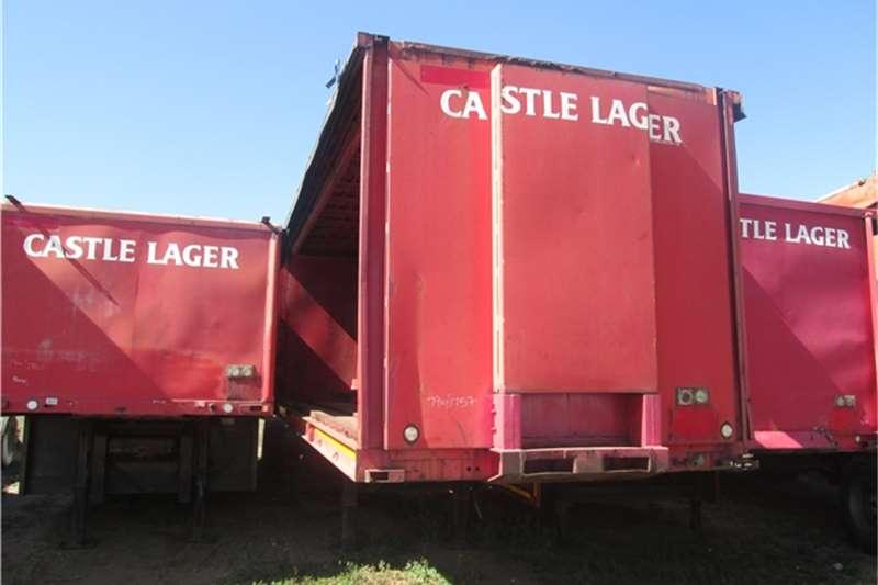 CTS 7.3m Beverage Tautliner Trailers