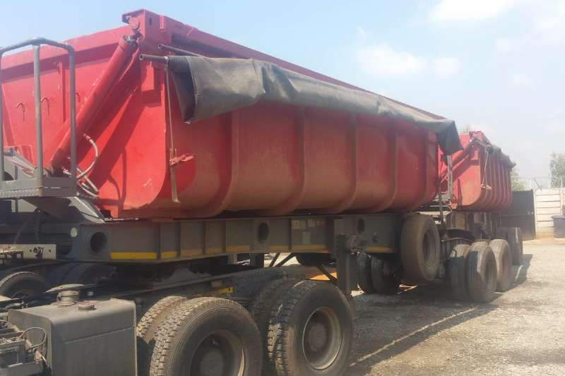 Trailers CTS Side Tipper 40 Cube 2008