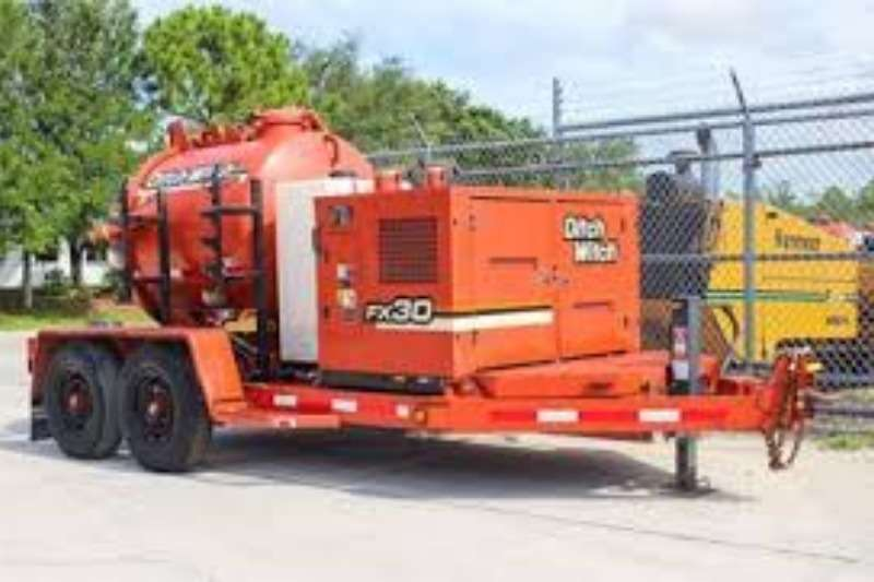 Ditch Witch Water tanker DITCH WITCH FX3 3600L VACUUM WATER TANKER Trailers