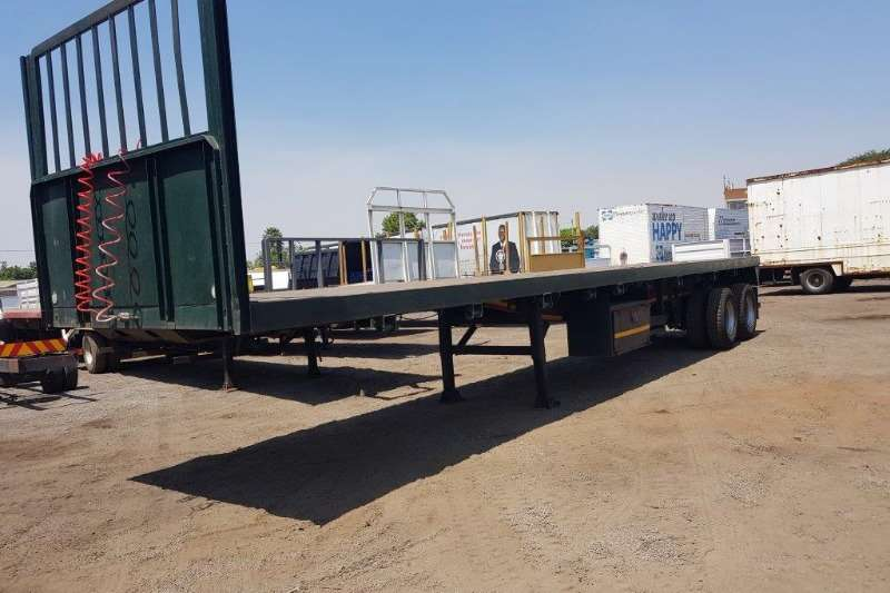 Double axle Back Link or Double Axle Trailer Trailers