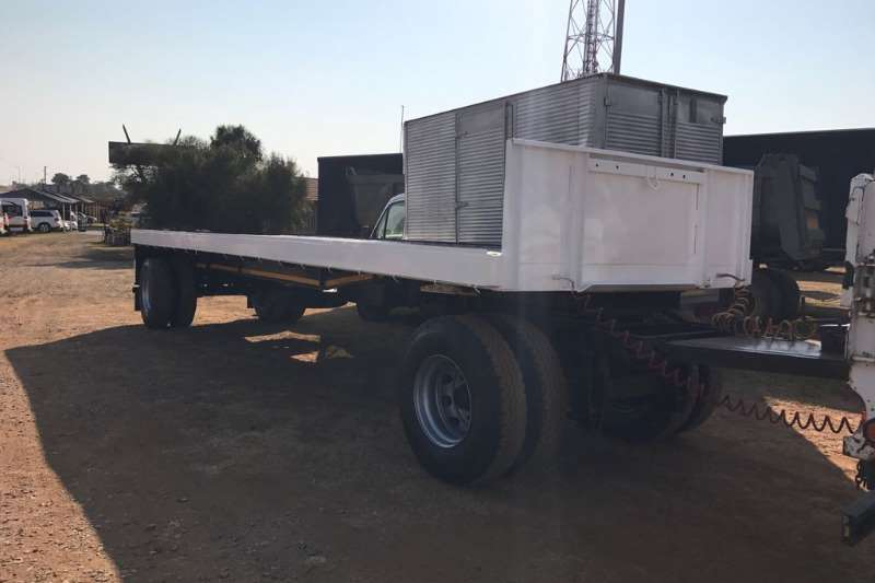 Trailers ETE 9m Drawbar Trailer 1982