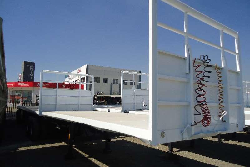 Trailers Hendred Flat Deck 6x12 m flatdeck superlink trailer 2002