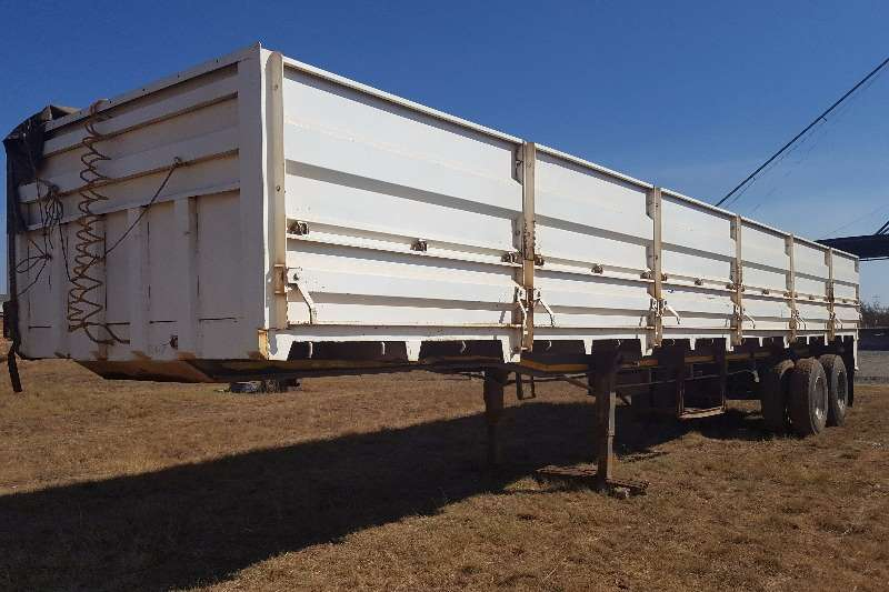 Trailers Hendred HENRED Double Axle Mass Side Trailer 12 M POA 0