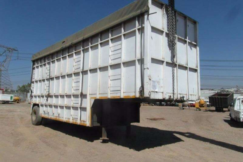 Trailers Hendred High Sides Volume Body Trailer 1979