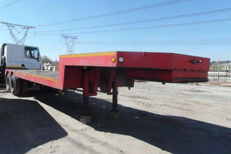 Trailers Hendred Stepdeck Double Axle Stepdeck Trailer 2008