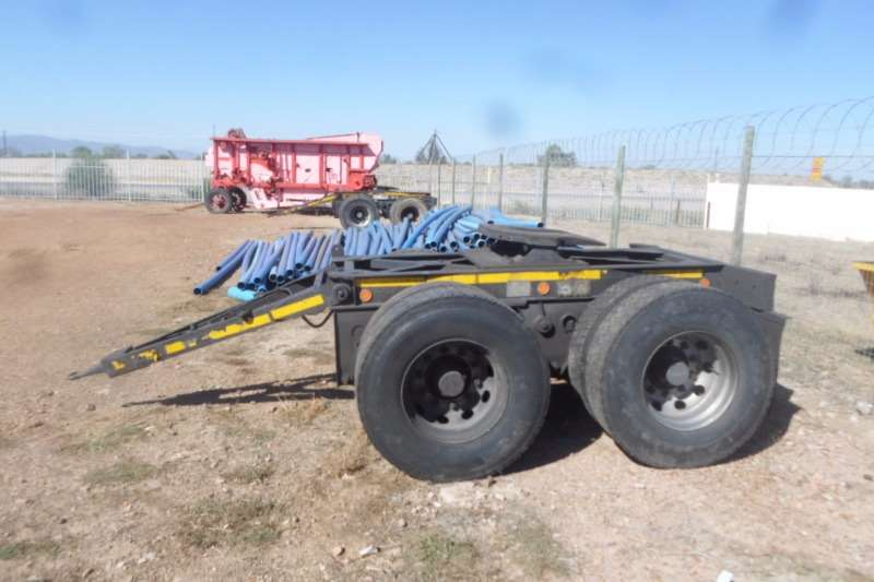 Trailers Henred Double Axle Henred Dollie Tandem Axle 1979