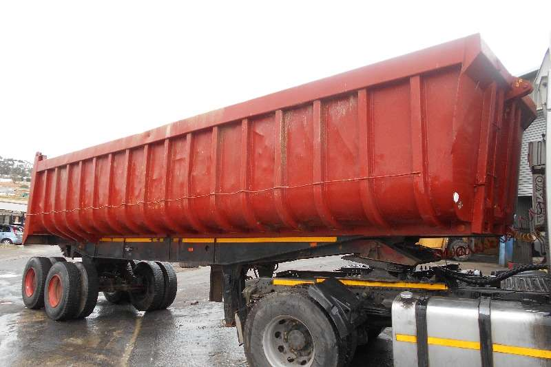 Trailers Henred End Tipping Henred Copelan End Tipping 30 Kub 1998