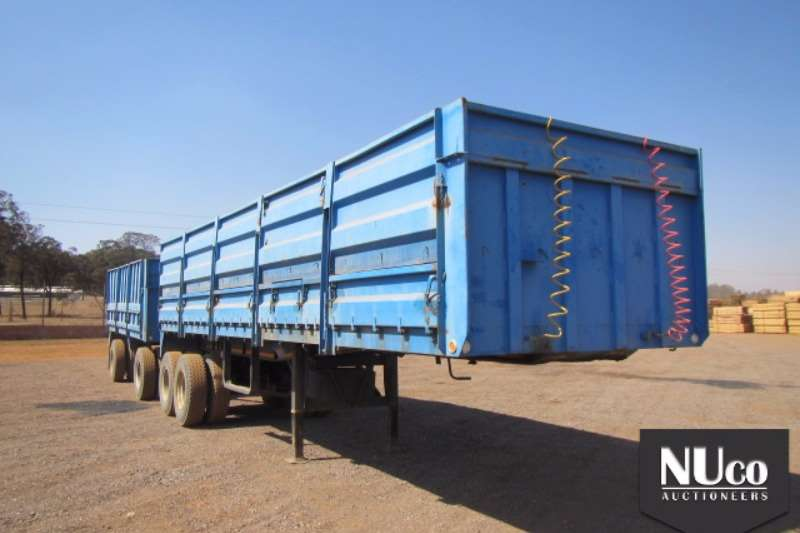 Trailers Henred High Sides HENRED DOUBLE AXLE HIGH DROPSIDE TRAILER 0