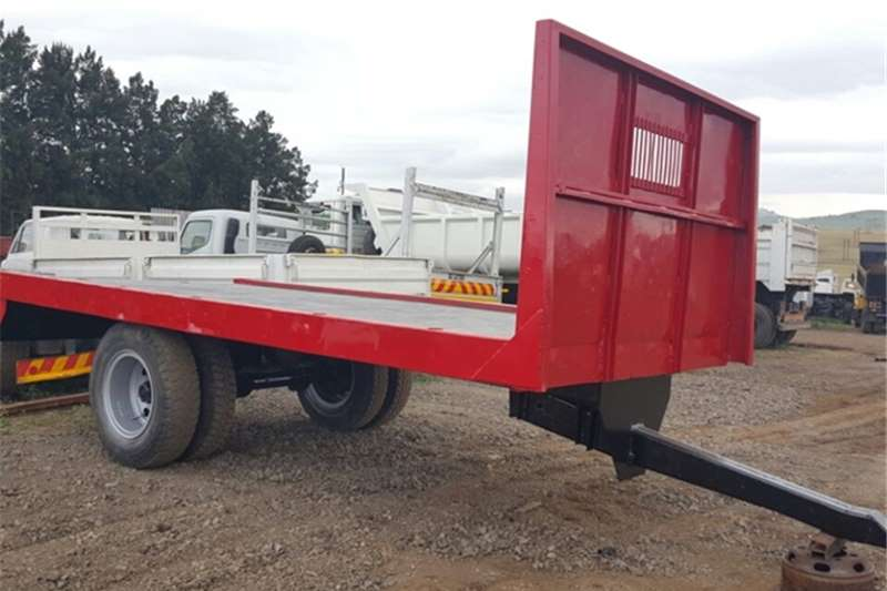 Homebuilt Flat deck 8 Ton Tractor Drawn Trailers