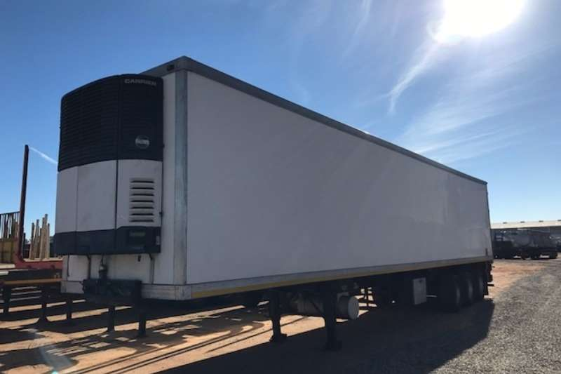 Trailers Ice Cold Bodies Refrigerated Trailer 2 x Ice Cold Bodies Tri axle Fridge Trailers 2007