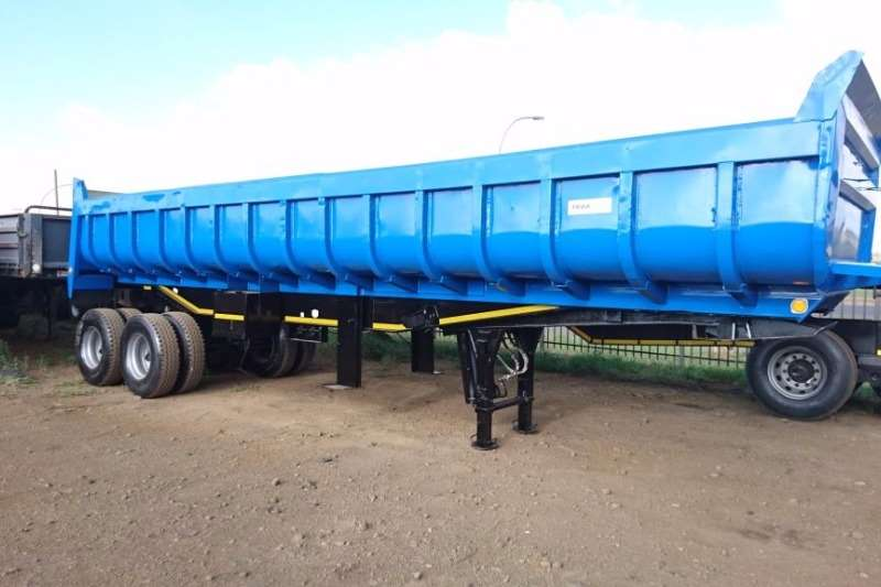 Trailers Inline End Tipping Copelyn 2001