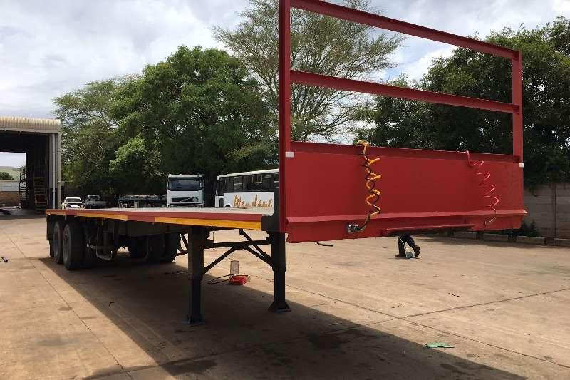 Trailers Knight Bodies Flat Deck 12M FLAT DECK TRAILER 0