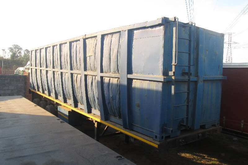 Trailers Mele Skeletal 12m Skeletal with 12m Container 2007