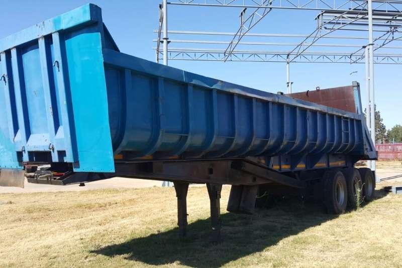 Trailers Mele Slope Deck Back Tipper 0