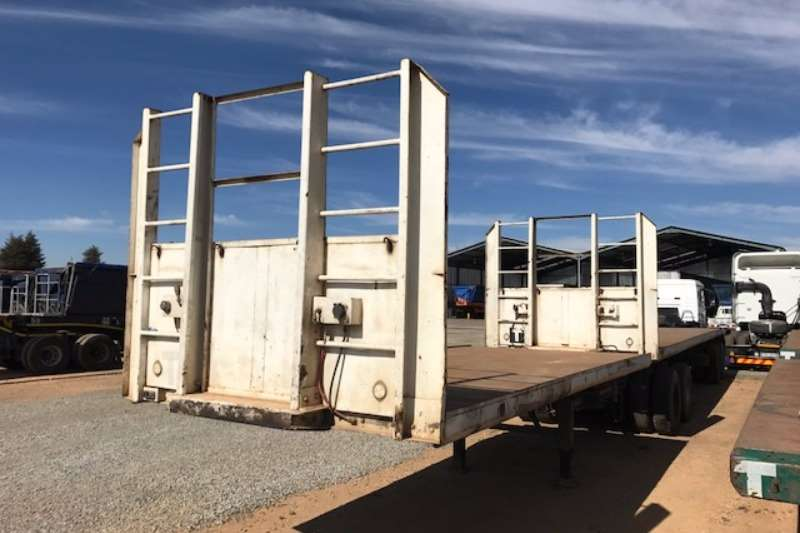 Motor Trail Flat deck Superlink Flatdeck Trailer Trailers