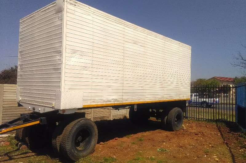Trailers Other Close Body high speed draw bar trailer 0