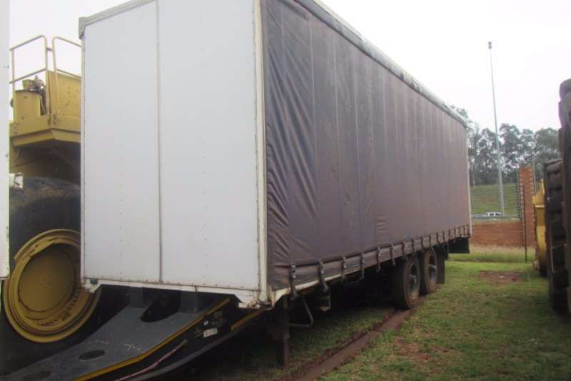 Trailers Other Curtain Side KNORR-BREMSE DOUBLE AXLE CURTAIN SIDE DRAW TRAILER 0