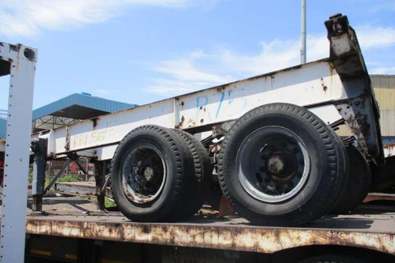Trailers Other Double Axle Double Axle Container Trailer 0