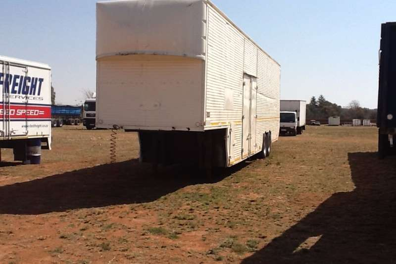 Trailers Other Double Axle Pieterse Engineering Pantech 1989