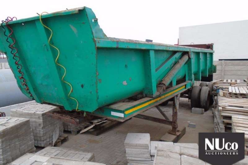 Trailers Other End Tipping DOUBLE AXLE END TIP TRAILER 0
