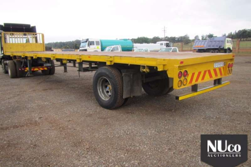 Other Flat deck MOREWEAR SINGLE AXLE FLAT DECK Trailers
