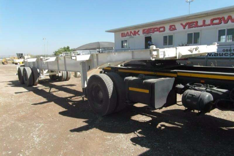 Trailers Other Skeletal Transwerk Double Axle Skeletal 2001