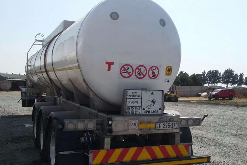Trailers Other Stainless Steel Tank 35 000L FOOD GRADE TANKER 2015