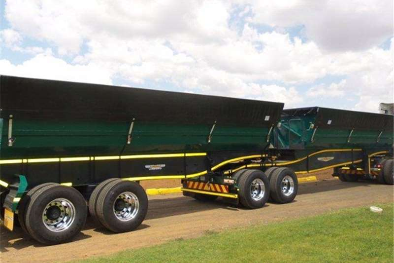 Other Tipping bulk trailer Trailord 40/45 m³ Side Tipper Link Other Trailers