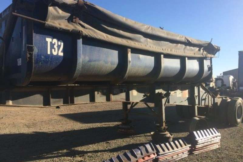 Trailers Other Top Trailer Front Side Tipper Trailer 2008