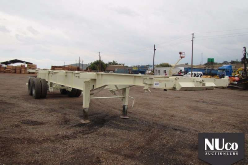 Trailers Other TRANSWERK SKELETAL CONTAINER TRAILER 0