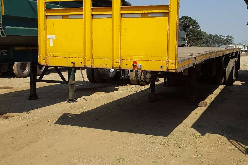 Trailers Other Tri-Axle Tri Axle Flat Deck 0