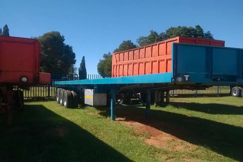 Trailers Paramount Flat Deck Used 14m Tri Axle Trailer Available 2015