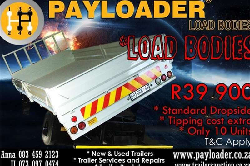 Payloader Dropside NEW 2016 DROPSIDE Trailers