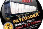Trailers Payloader Flat Deck NEW 2016 70 CUBE WALKING FLOOR 2016