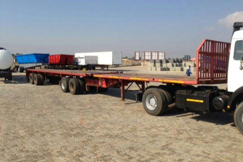SA Truck Bodies Flat deck SUPERLINK Trailers
