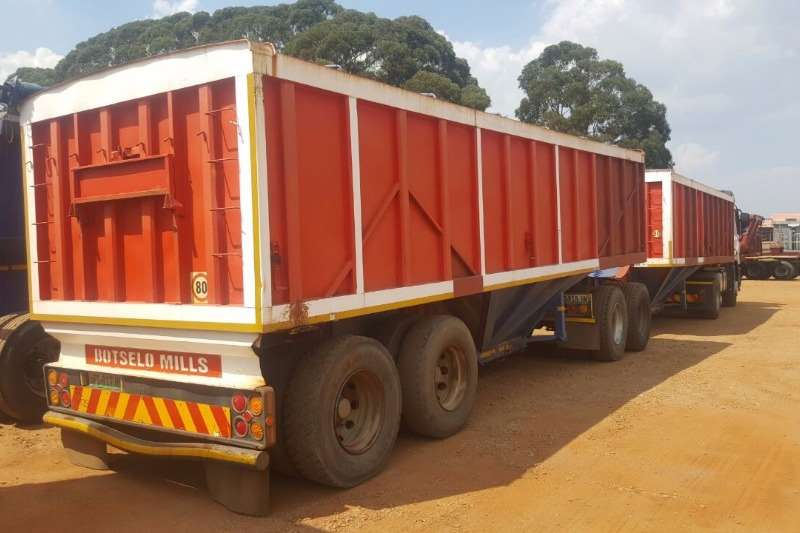 Trailers SA Truck Bodies Grain Carrier Interlink Bottom Dumper 2008