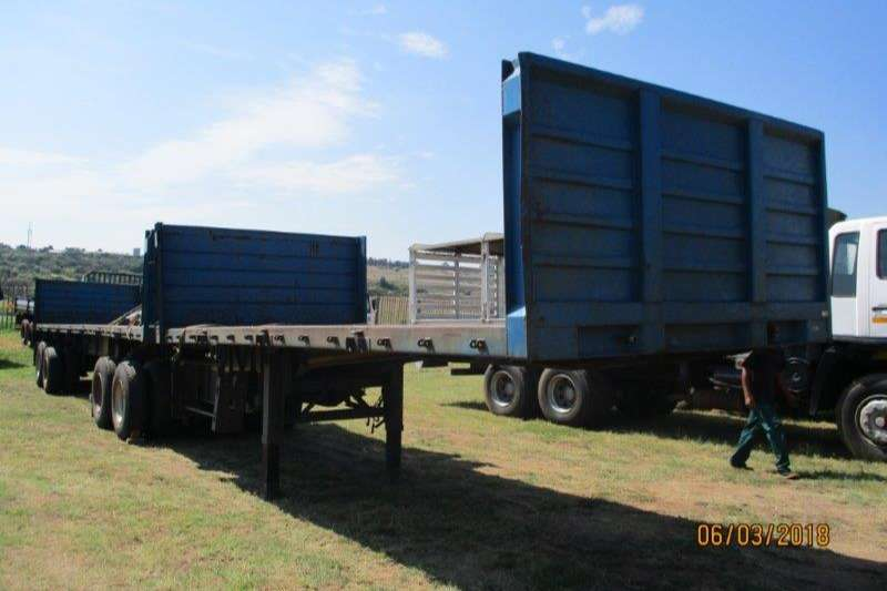 Trailers SA Truck Bodies Interlink SA TRUCK BODIES INTERLINK FLAT DECK WITH SIDES 2002