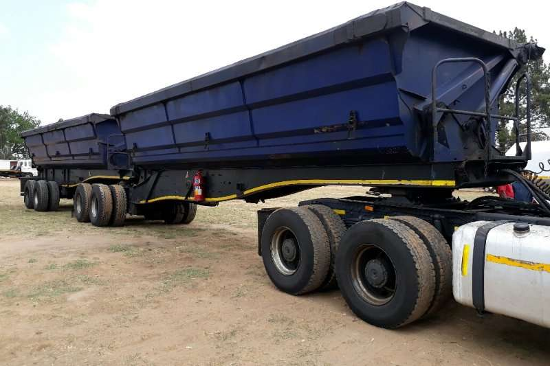 Trailers SA Truck Bodies Side Tipper Link 2010