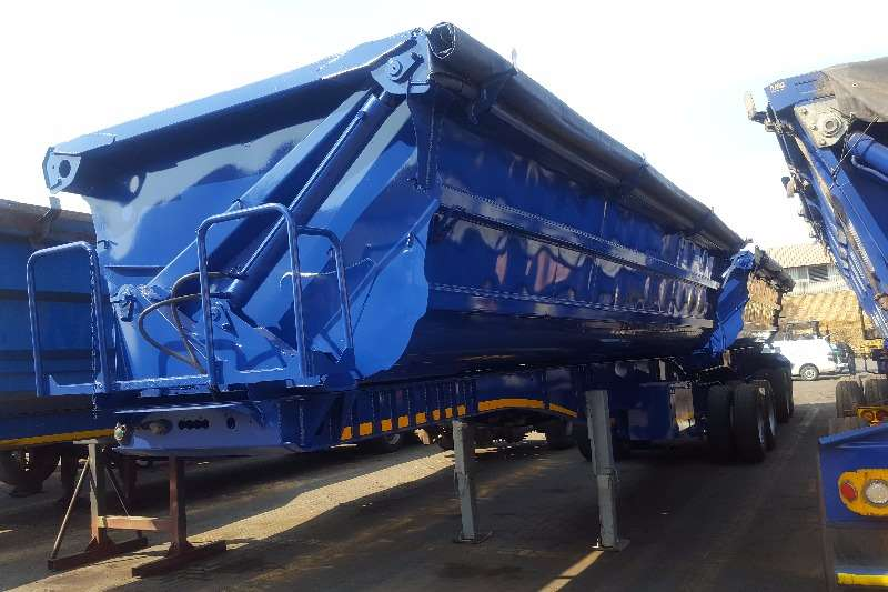 Trailers SA Truck Bodies Side Tipper SATB SIDE TIPPER FULLY REFURBISHED 2008