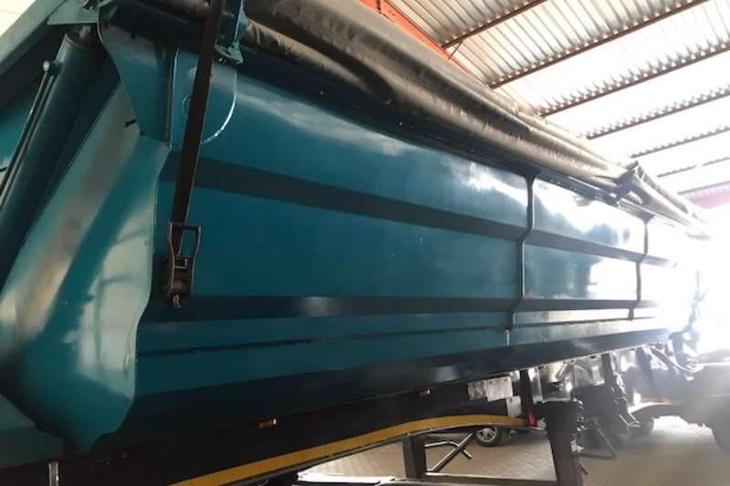 Trailers SA Truck Bodies Side Tipper Side tip link 45m3 2009