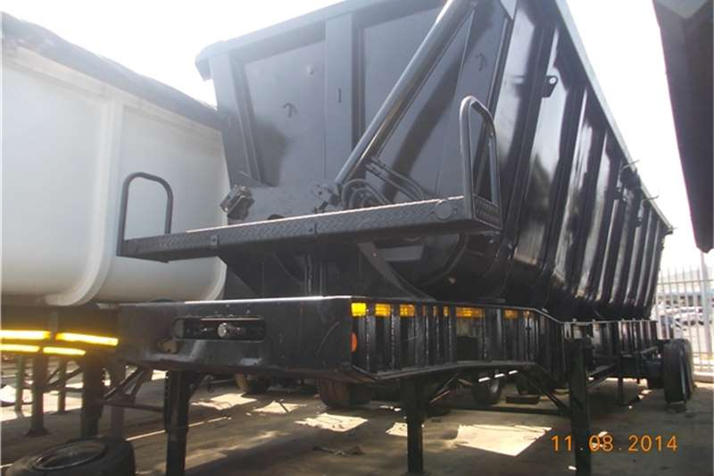 SA Truck Bodies Side tipper superlink trailers Trailers