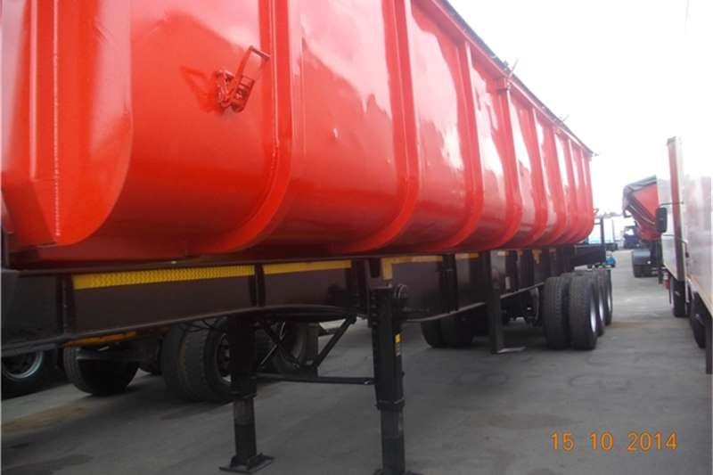 2009 Sa Truck Bodies Superlink Trailers Side Tipper