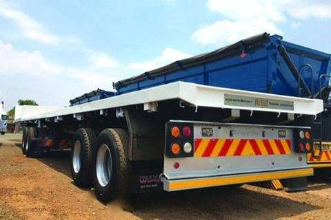 SA Truck Bodies Superlink Superlinks Flatdeck, 3x available Trailers
