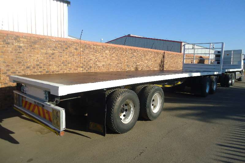 Trailers  Southern Star Flat Deck TRUCK CRAFT FLATDECK DRAWBAR 10M 4AXLE TRAILER 2016