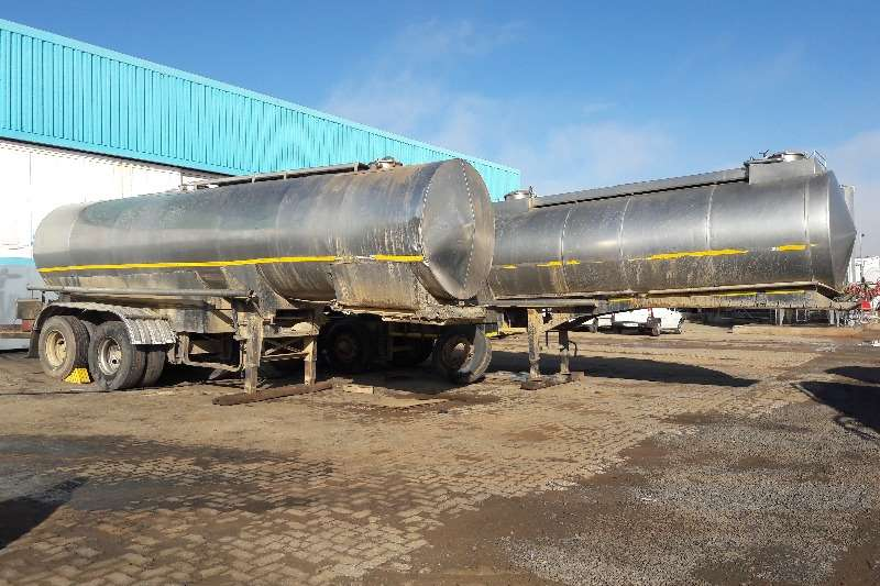 Trailers Stainless Steel Tank Used 32 000LT 304 S/S Link Milk Tank Available 1982